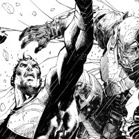 Jim Lee drew a 'Batman v Superman' cover for Empire magazine subscribers