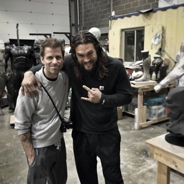 Zack Snyder shares first 'Justice League' set photo with lots of Easter eggs