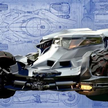Production designer explains how they created the Batmobile for 'Batman v Superman' (video)