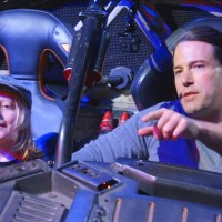 Watch Ben Affleck drive fans around in the Batmobile for charity (video)