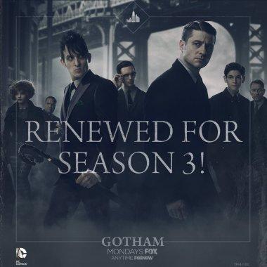 FOX renews 'Gotham' for a third season