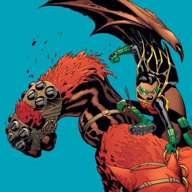 Robin : Son of Batman #10 review