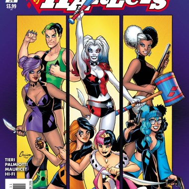 Exclusive Interview: Jimmy Palmiotti and Frank Tieri talk Harley Quinn and Her Gang of Harleys