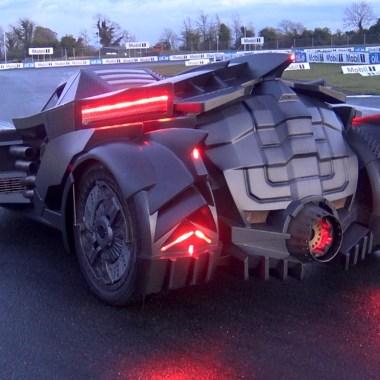 These guys turned a Lamborghini into the 'Batman: Arkham Knight' Batmobile (video)