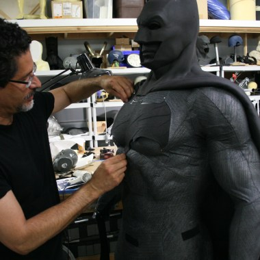 Ironhead Studio: Meet the man who created the costumes for 'Batman v Superman' (video)