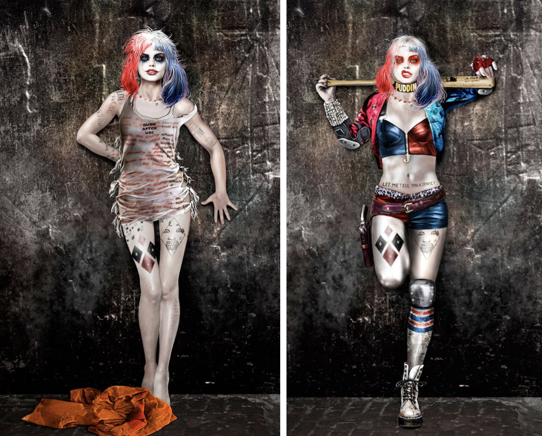 harley quinn sin maquillaje suicide squad