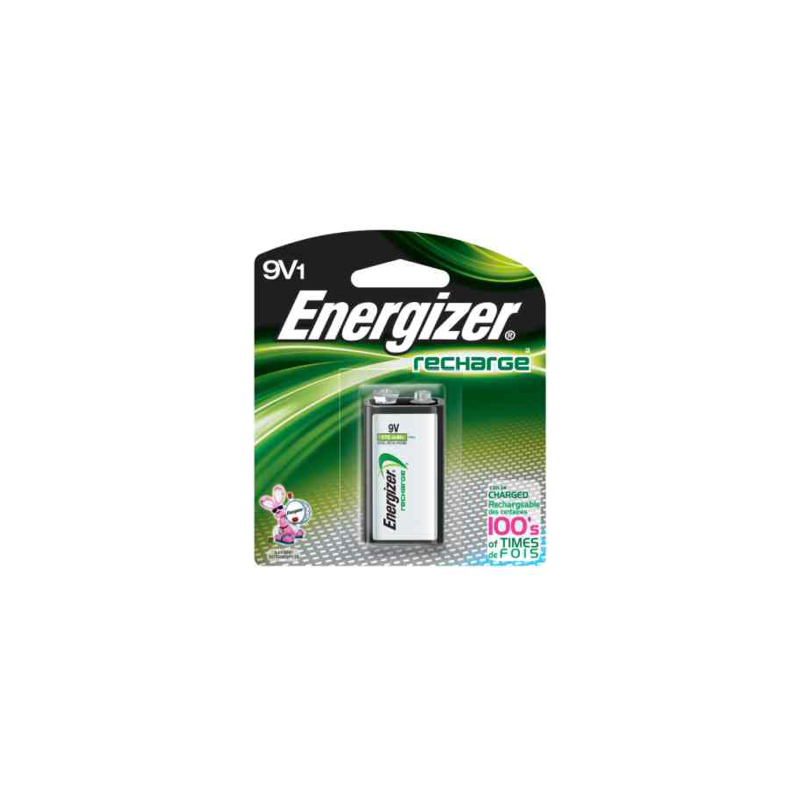 9 Volt Rechargeable Battery Energizer Recharge 9v Rechargeable Battery Nimh 8 4v