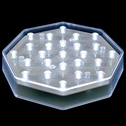Battery Powered Sconces 25 Clear Led Centerpiece Light Base - Battery Powered With
