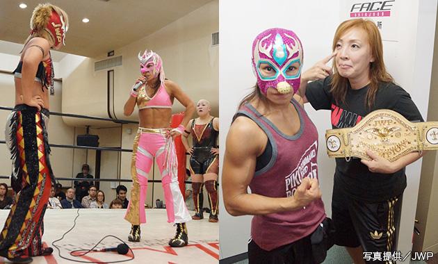 JWP_ボリショイとLeonで挑戦者決定戦を行うことを無差別級王者・尾崎に伝えたボリショイ