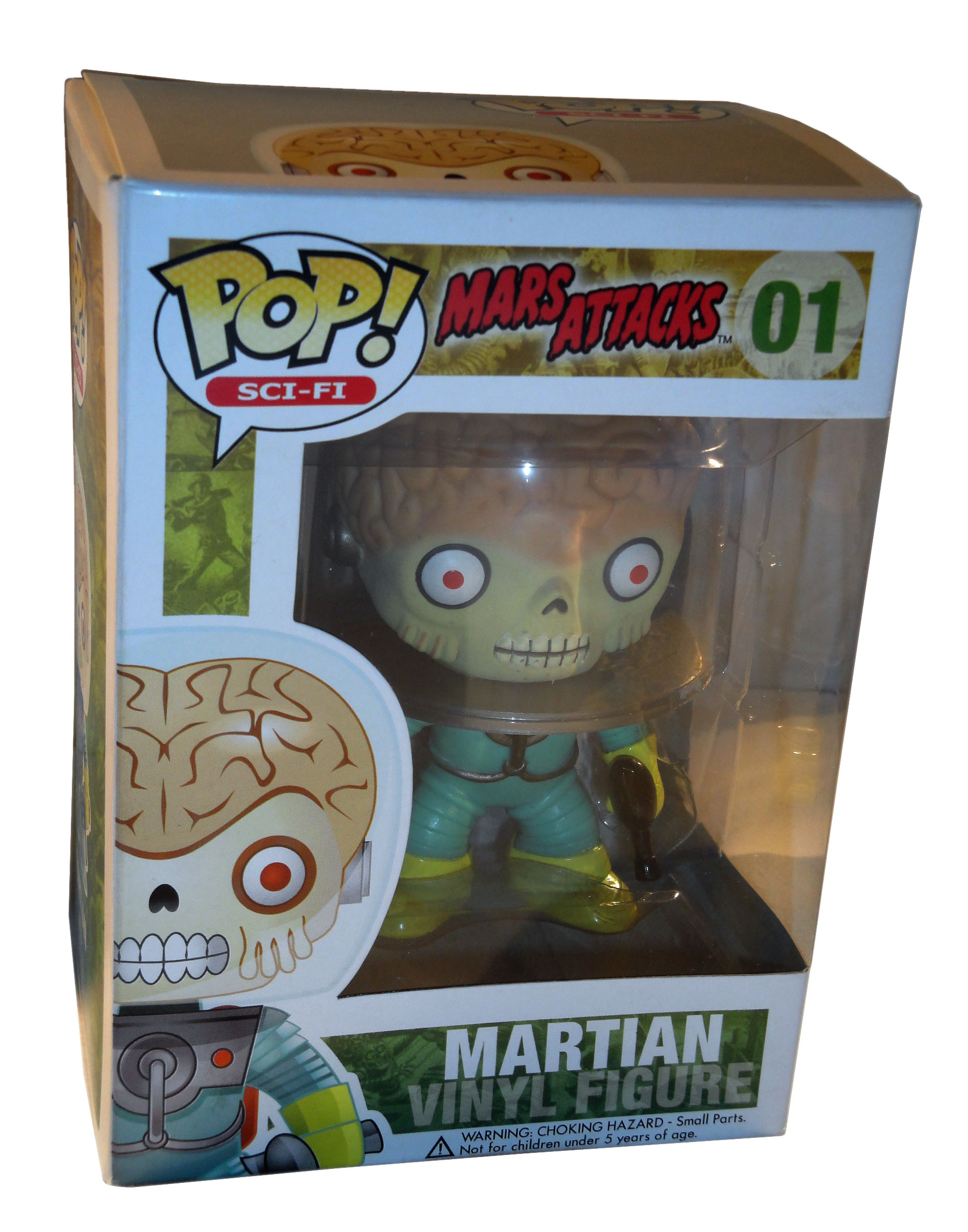 Cando Click Vinyl Review Pop Vinyl Mars Attacks