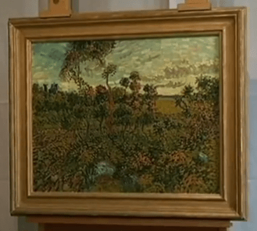 Vincent Van Gogh's lost painting