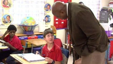 Louisiana principal inspires students with remarkable journey