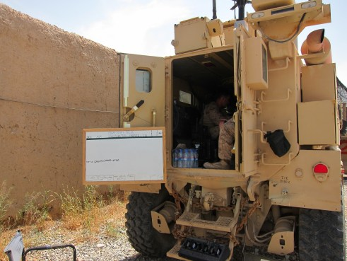 MRAP Command Operations Center