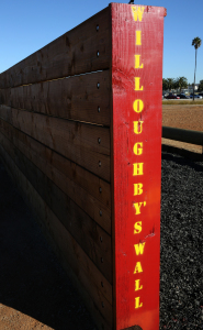A portion of the new obstacle course aboard Marine Corps Air Station, Miramar, Calif., is named after Sgt. Mark Willoughby, an air intercept controller with Marine Tactical Air Control Squadron 38. Willoughby brought attention of the installation's lack of an obstacle course to Maj. Gen. Steven Busby, 3rd Marine Aircraft Wing commanding general, who made sure the Marines received one. (Lance Cpl. Christopher Johns/Marine Corps)
