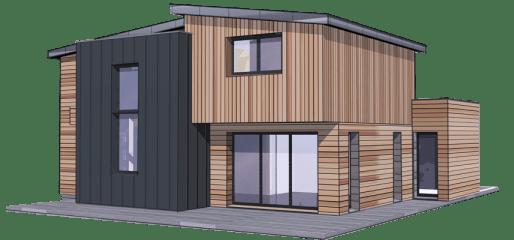 prix construction maison bois pas ch re. Black Bedroom Furniture Sets. Home Design Ideas