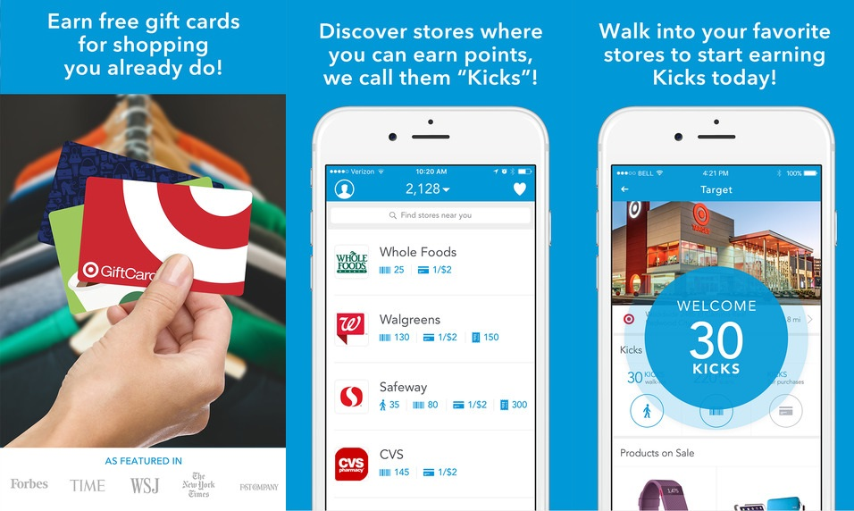 real rewards apps walking