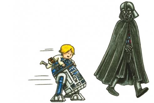 Paternidade Star Wars