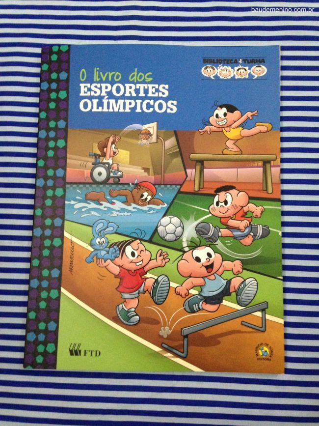 o livro dos esporte olímpicos