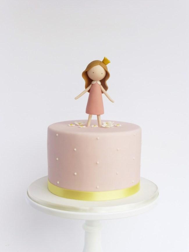 bolo infantil clean princesa