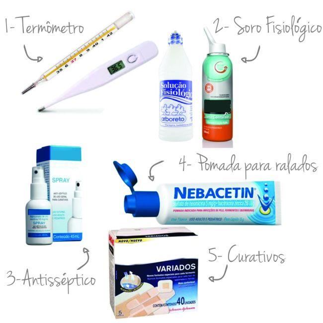 farmacinha doméstica