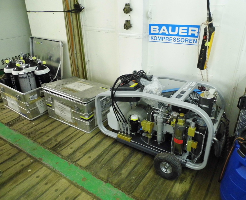 Bauer Units Update From The Polarstern Research Icebreaker Ship