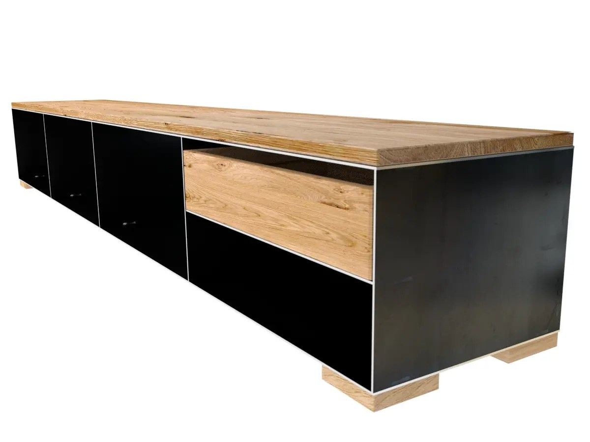 Sideboard Holz Metall Sideboard Metall Holz Sideboard Lexiago Aus Holz Massiv Mit
