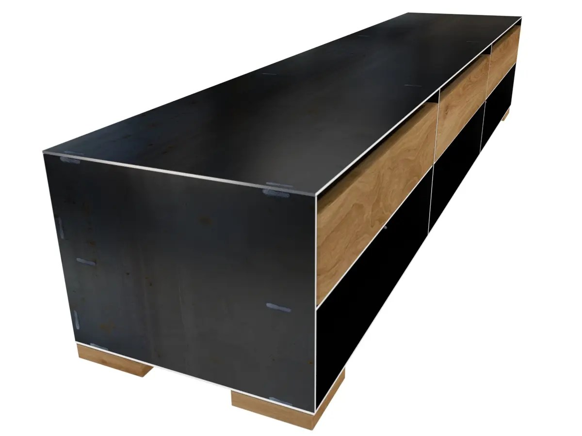 Sideboard Metall Metall Sideboard With Metall Sideboard Top Hbsch