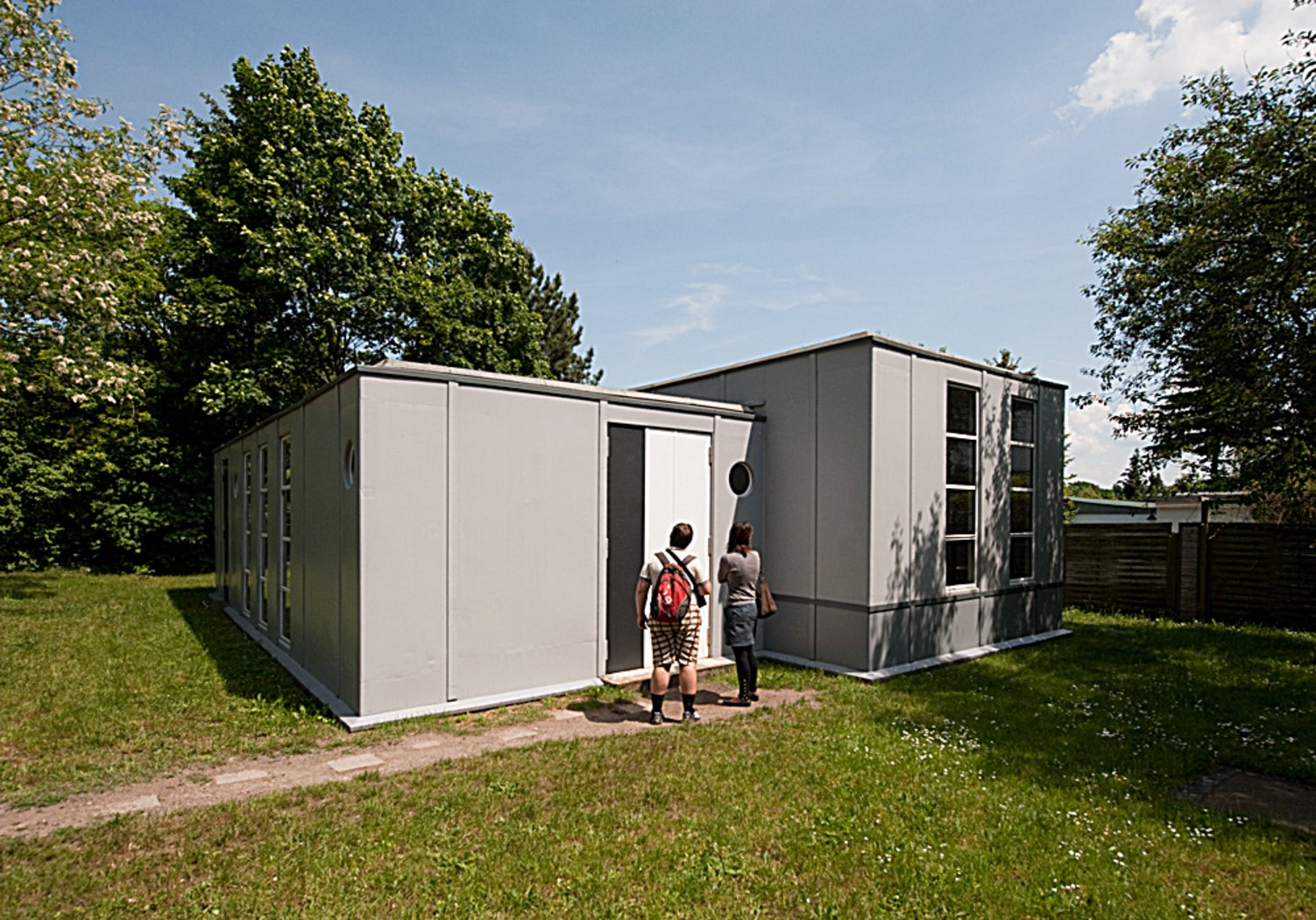 Container Haus Cube Steel House By Georg Muche And Richard Paulick 1926 27 Bauhaus