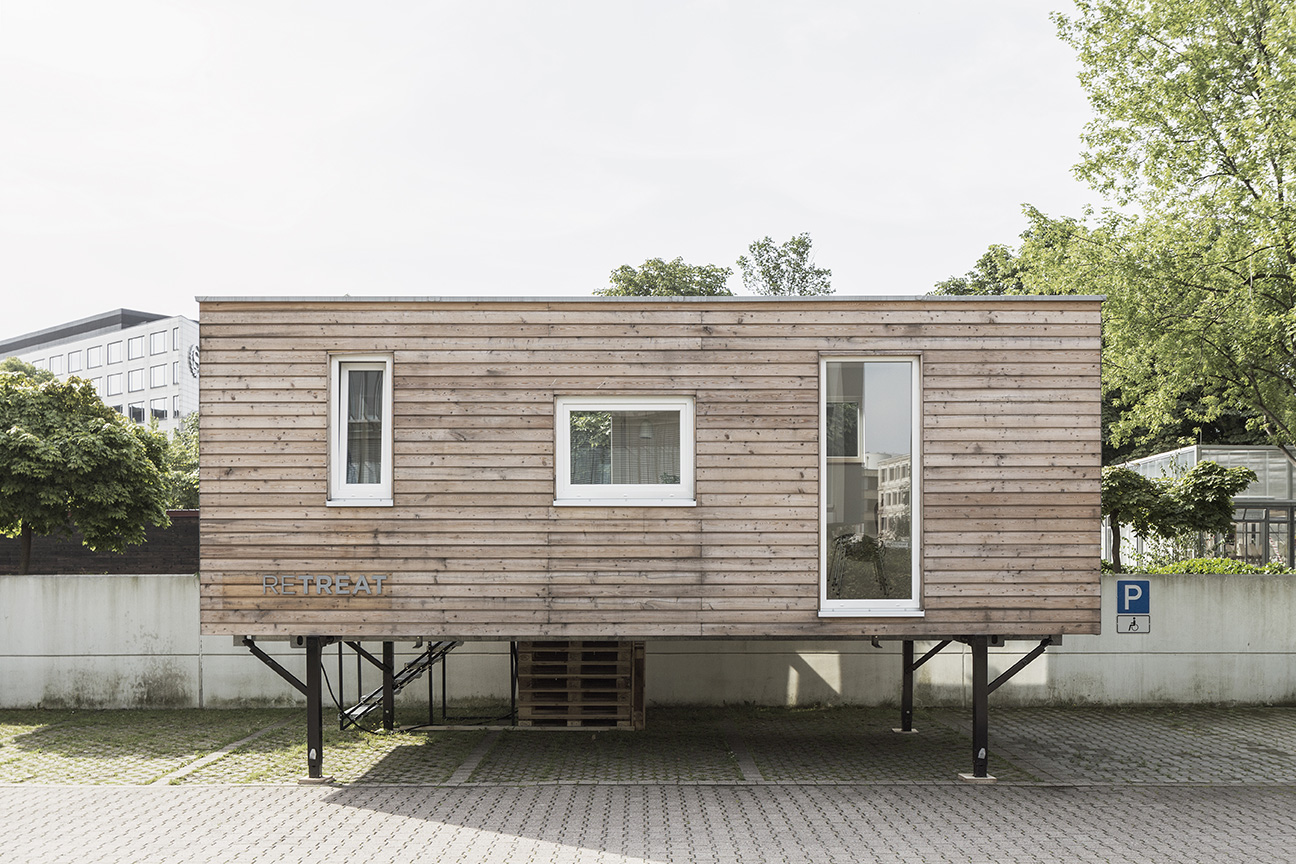 Bauhaus Holzhaus Retreat – Bauhaus Campus Berlin