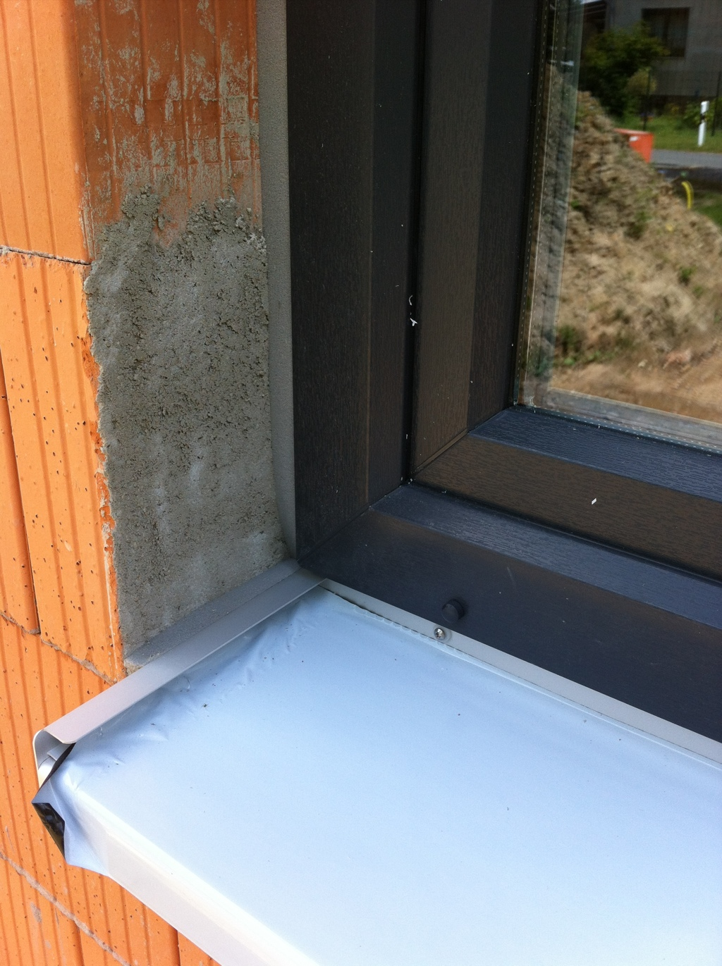 Fensterbank Anthrazit Fensterbank Alu Wei Trendy Fensterbank Aluminium Endstcke With