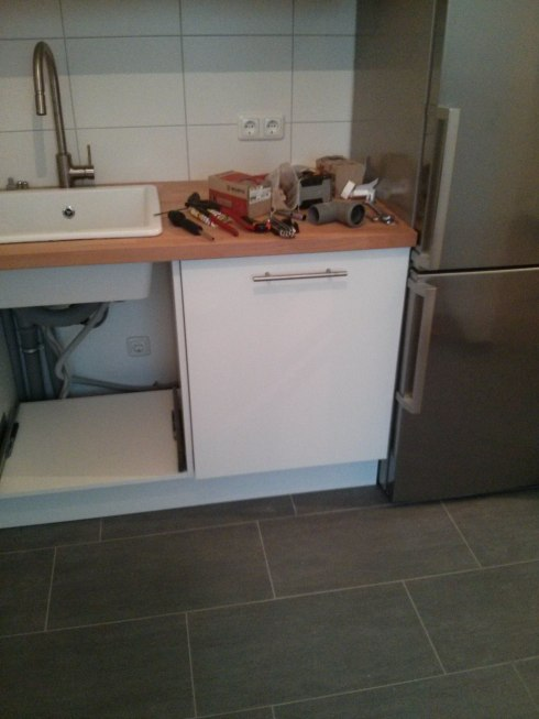 Unterschrank Küche Ikea   Weißer Doppelwaschtisch Mit ...