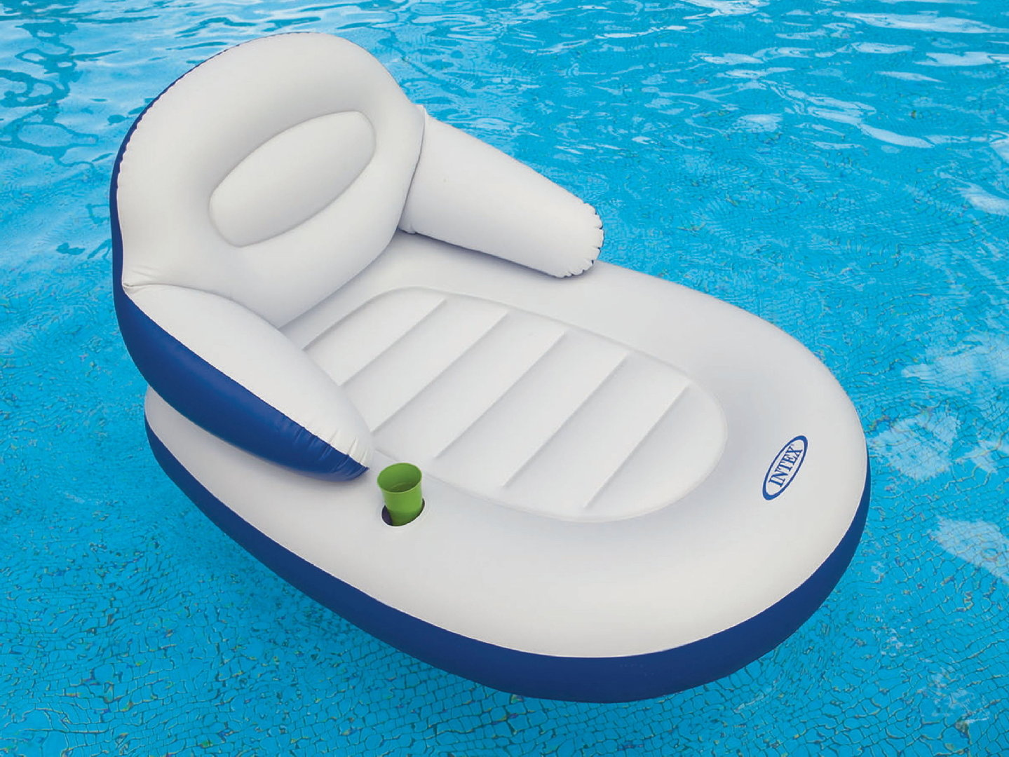 Bestway Pool Abdeckung Oval Schwimmsessel Quotcomfy Cool Lounge Quot Von Intex Bavchem