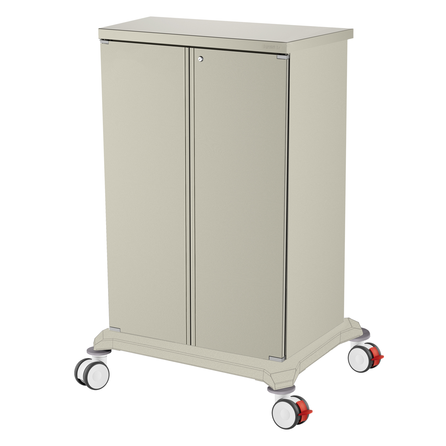 Chariot Porte Meuble Chariot Armoire Sur Roues Bawer Medical