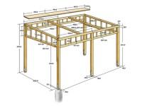 Pergola Bausatz Holz Hornbach  denvirdev.info