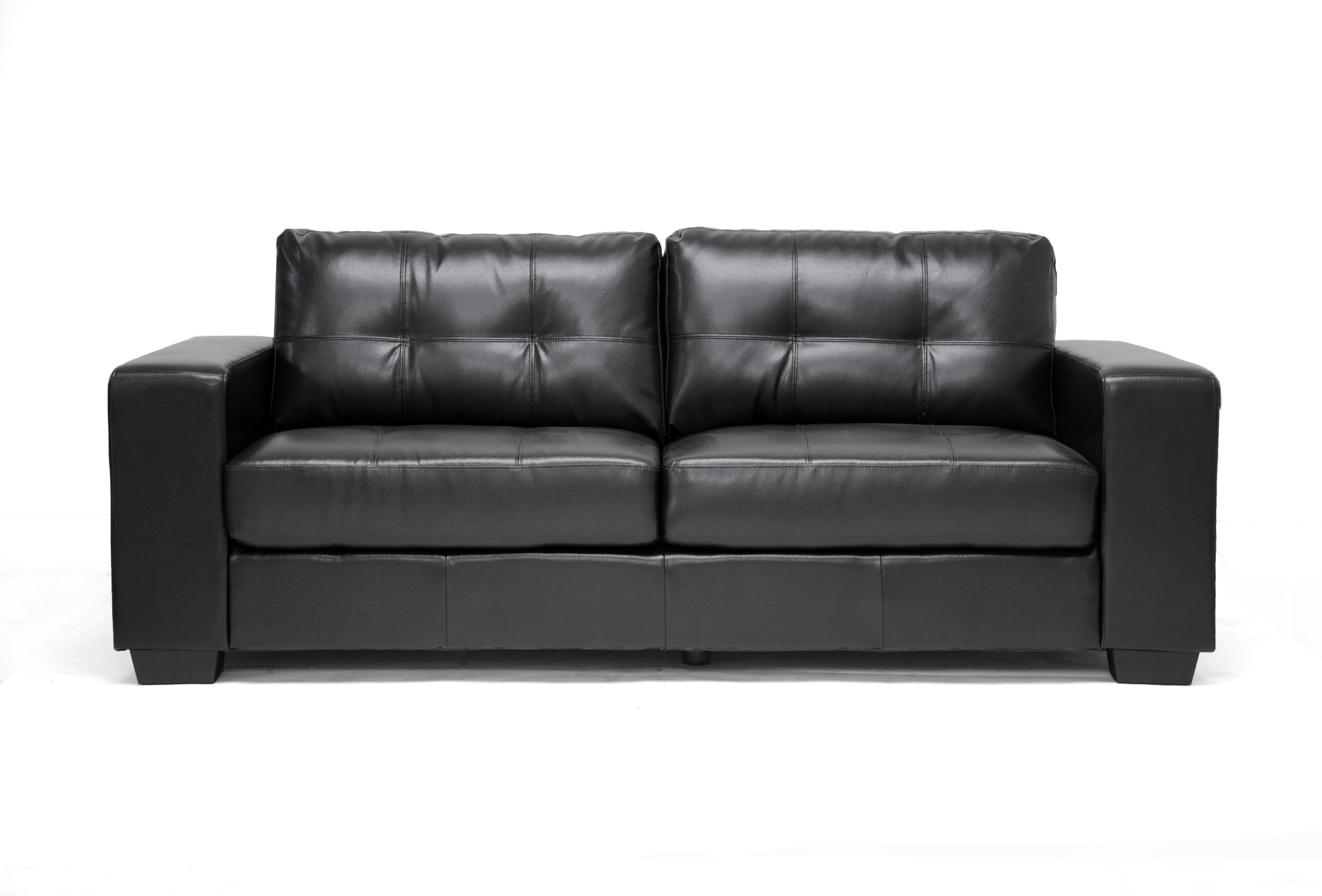 Interio Sofa Marilyn Elite Contemporary Black Leather Sofa Set Anaheim Inspirational