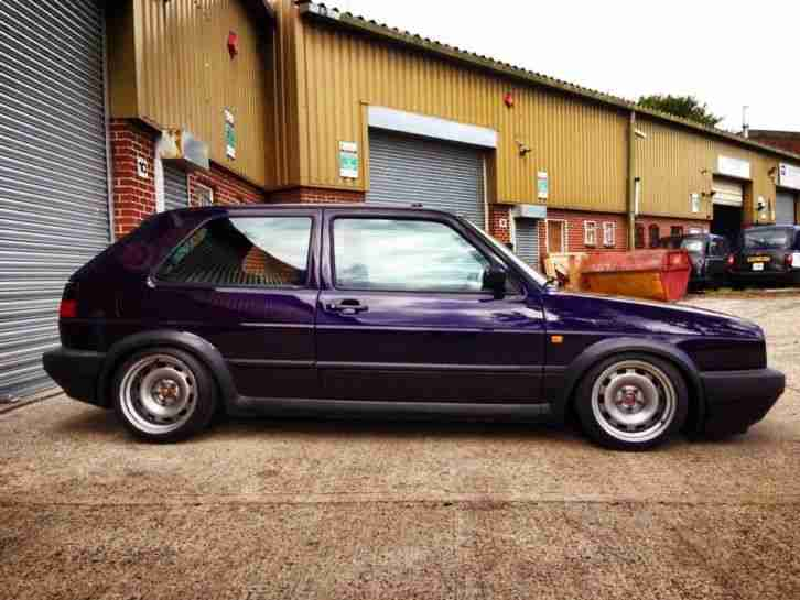 Volkswagen 1991 LHD GOLF GTI MK2 G60, SUPERCHARGED RARE FIRE AND ICE