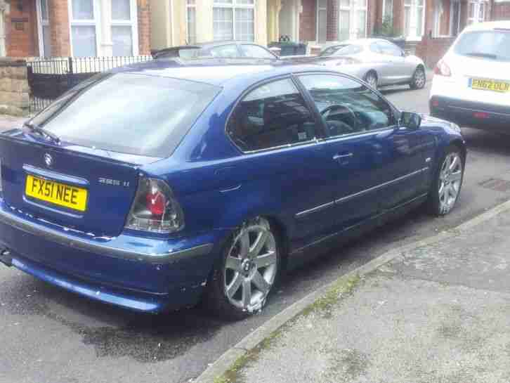 BMW 2001 325TI COMPACT AUTO BLUE car for sale