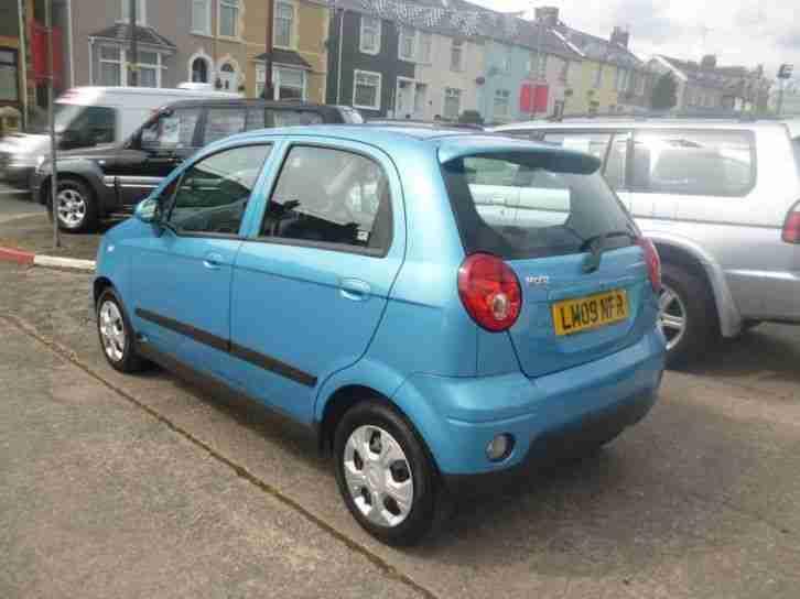 CHEVROLET MATIZ SE PLUS 2009 Petrol Manual in Blue car for sale