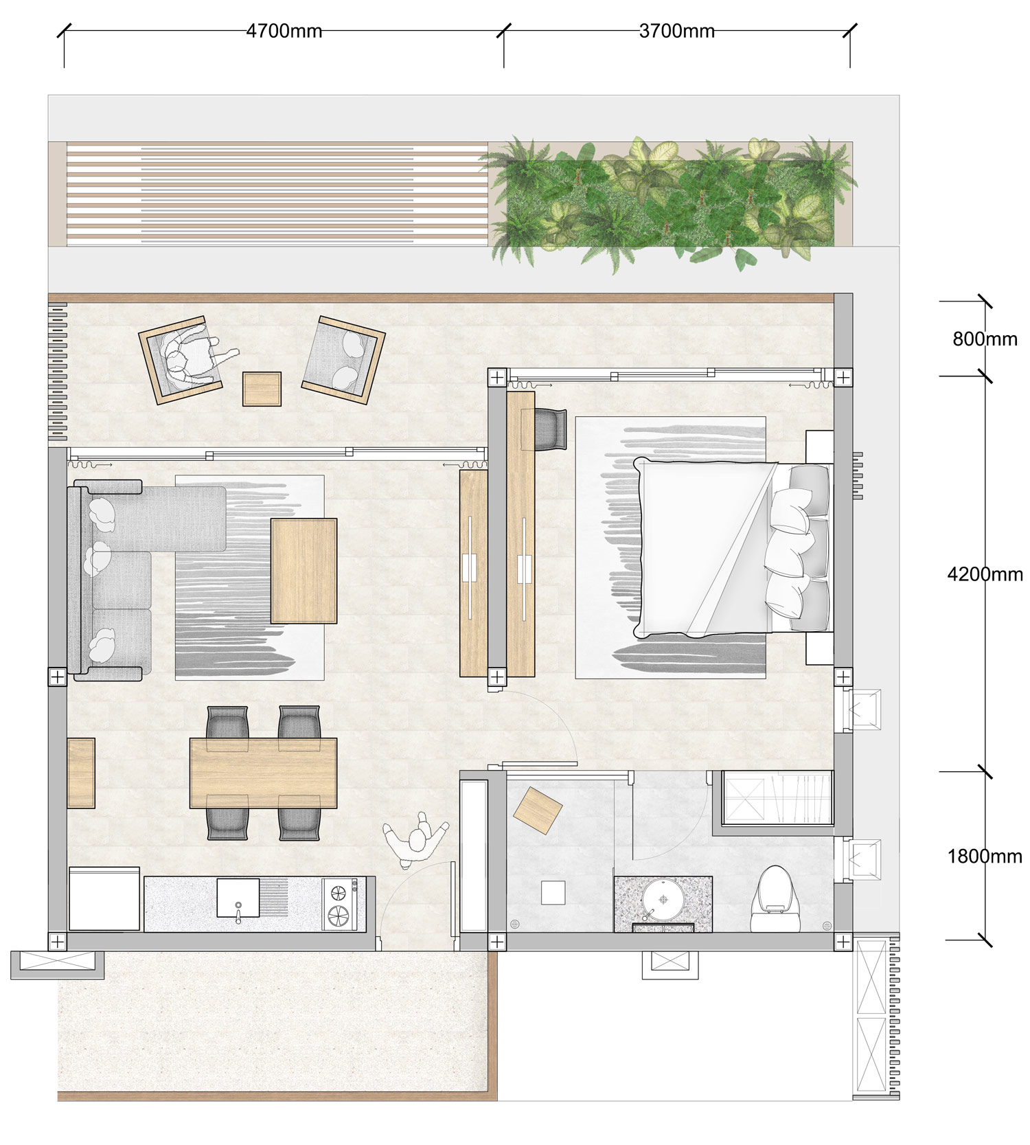 Bedroom Floor Layout 1 Bedroom Floor Plan Bay Apartments By Bay Residence Koh