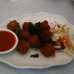 Thai food at Blue Mango in Santa Clara, CA