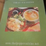 Thai cuisine at Thai Pepper in Cupertino,CA