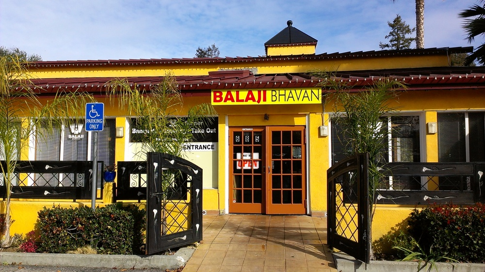 Indian thali lunch at Balaji Bhavan in Sunnyvale, CA