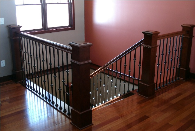 Craftsman Style Interior Doors Post To Post Stair Systems | Minnesota | Bayer Built Woodworks