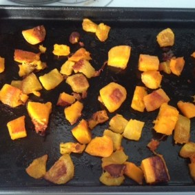 photo of squash after roasting