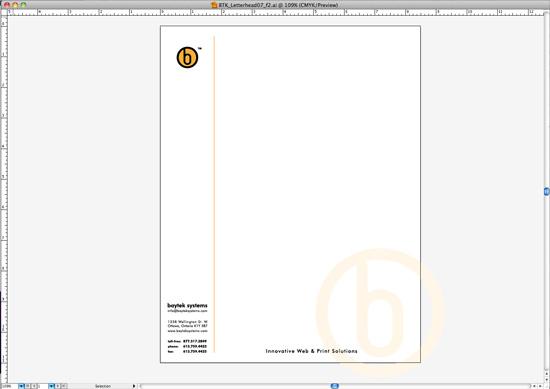 Letterhead Template Design for Microsoft Word (Part 1) - Baytek