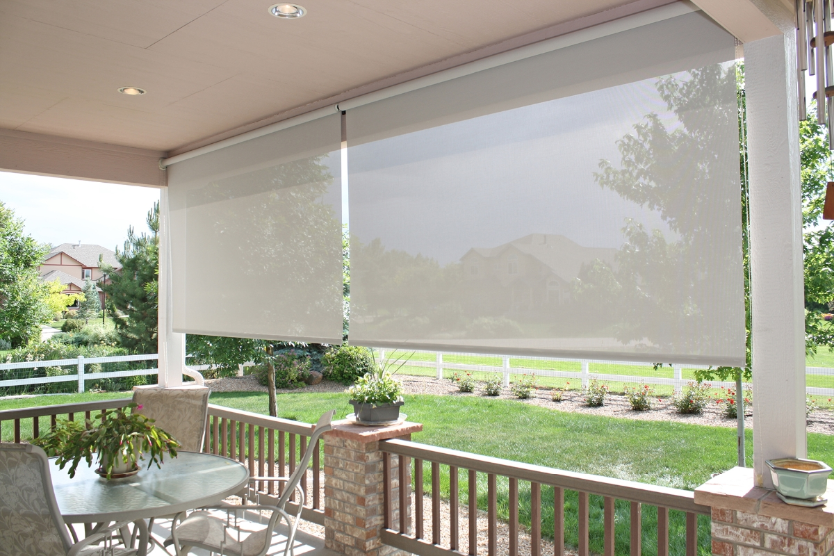 Outdoor Sun Blinds Enhance Your Summer With Exterior Screen Shades