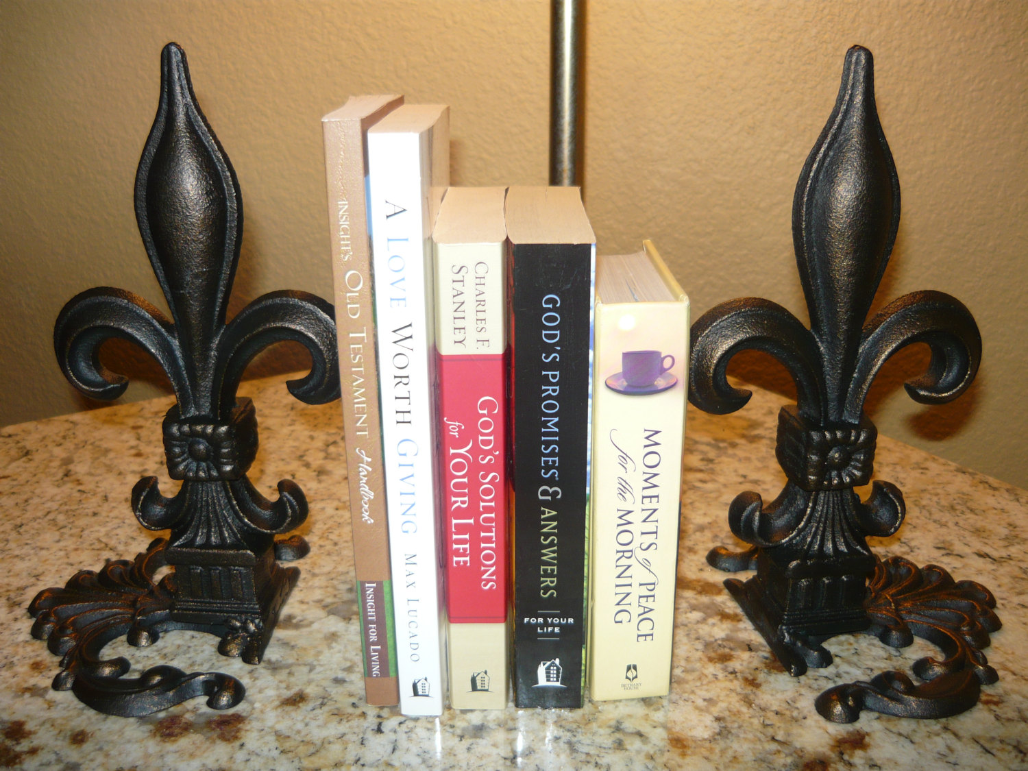 Cheap Fleur De Lis Home Decor Set Of 2 Iron Fleur De Lis Bookends Old World Tuscan