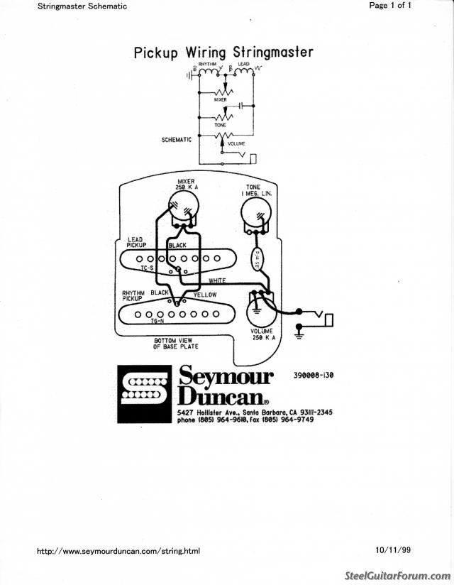 supro steel guitar pickup wiring diagram
