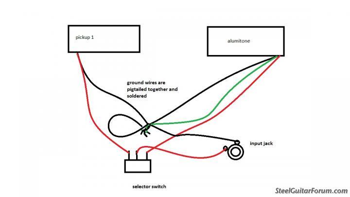 lace alumitone wiring