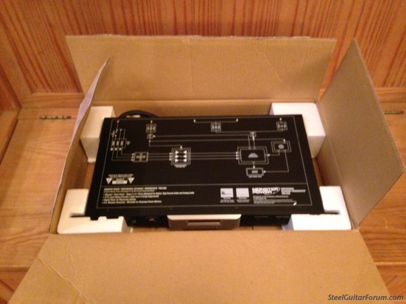Monster Pro 2500 1u Rack Mountable Power Conditioner